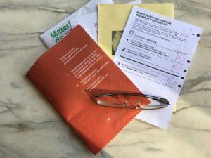 Kit de votation