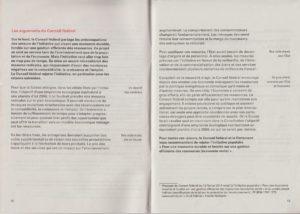 Page12-13 du manuel d'explications des votations en Suisse